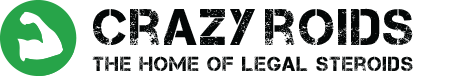 Crazy Legal Roids Logo